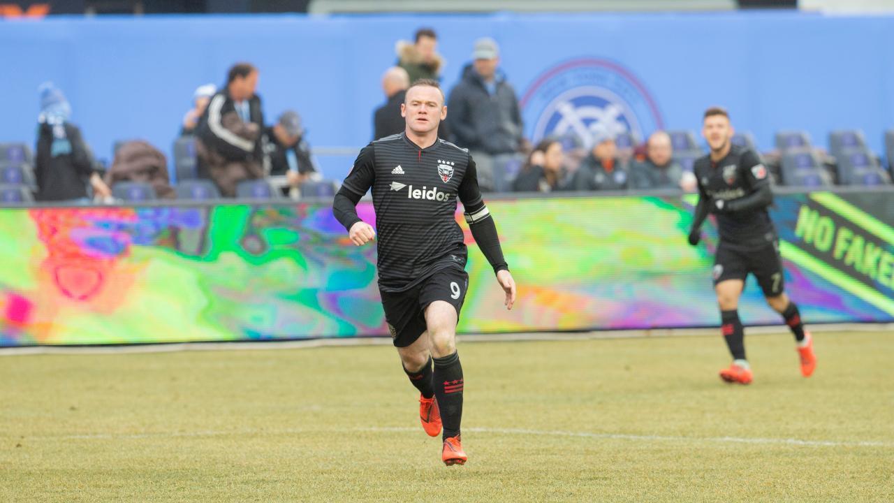 Wayne Rooney DC United hat trick