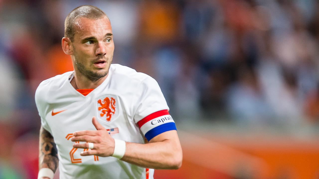 Wesley Sneijder final Netherlands match