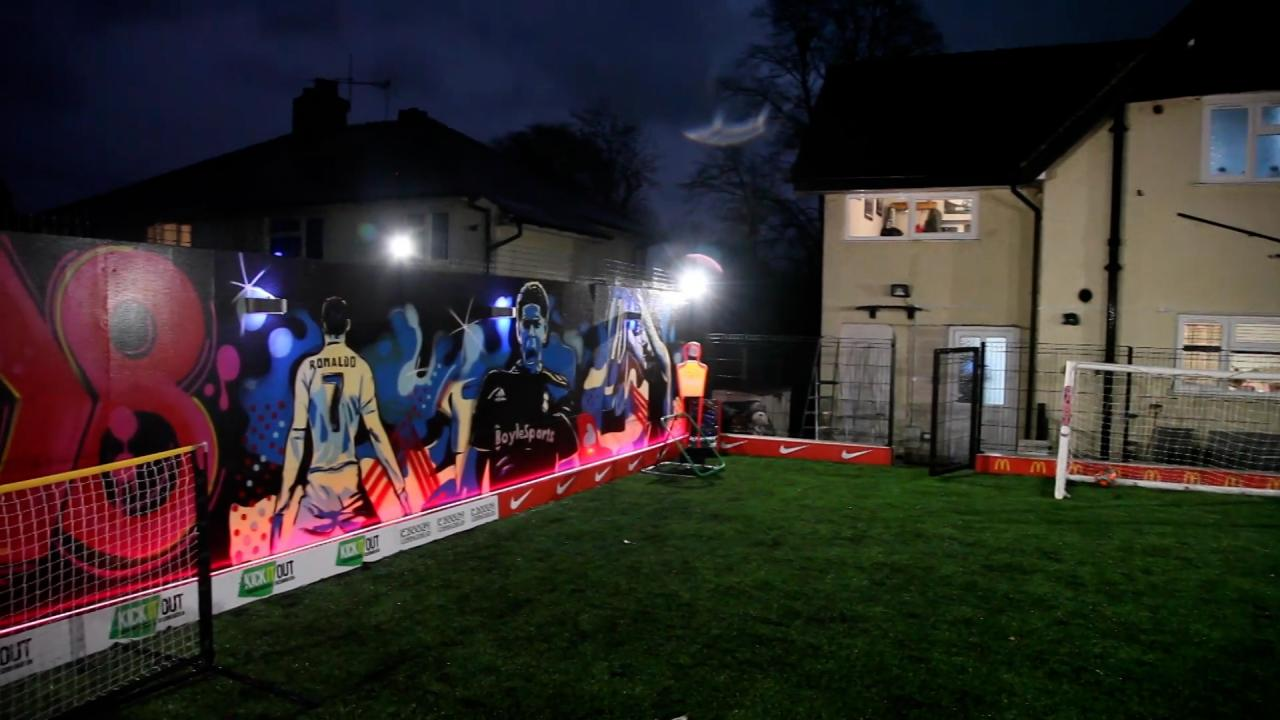 English Dad Builds Ultimate Backyard Soccer Pitch
