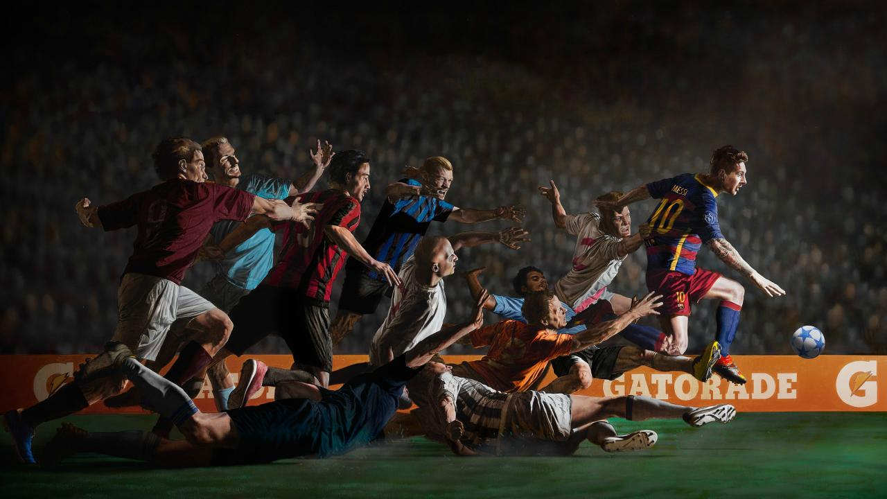 """The best soccer commercials of all time: Gatorade's """"Don't Go Down"""" commercial with Lionel Messi"""