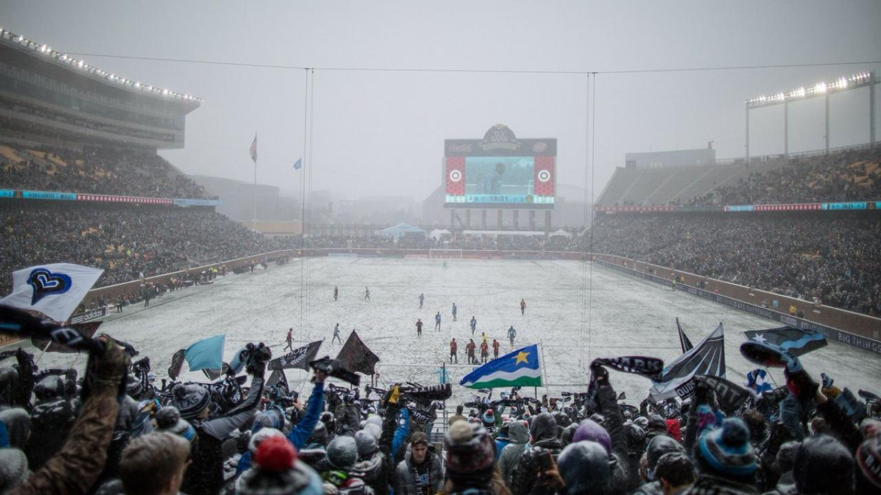 Minnesota United at TCF Bank Stadium
