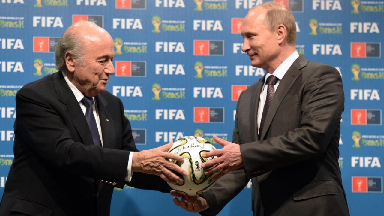 Putin World Cup invites