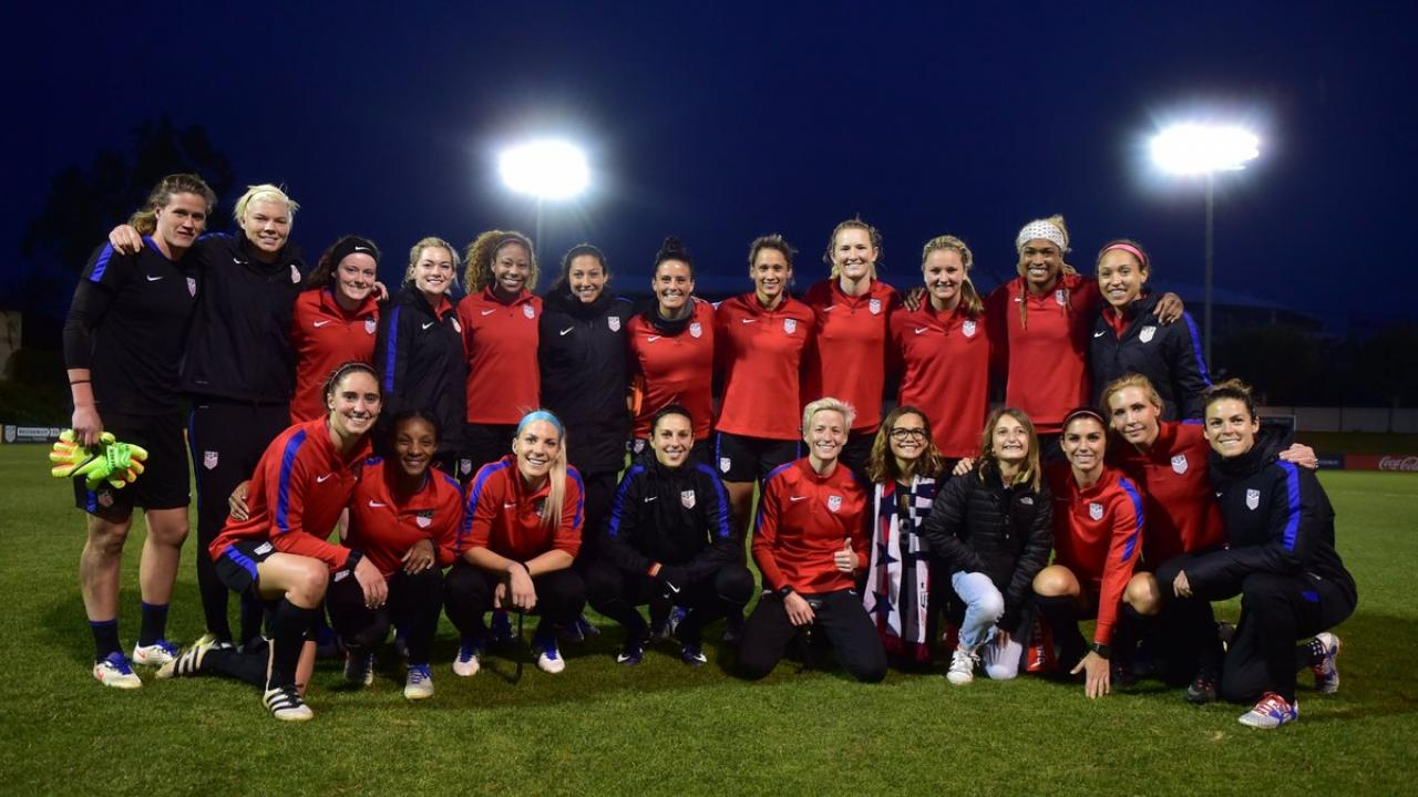 USWNT 2017 Training Camp
