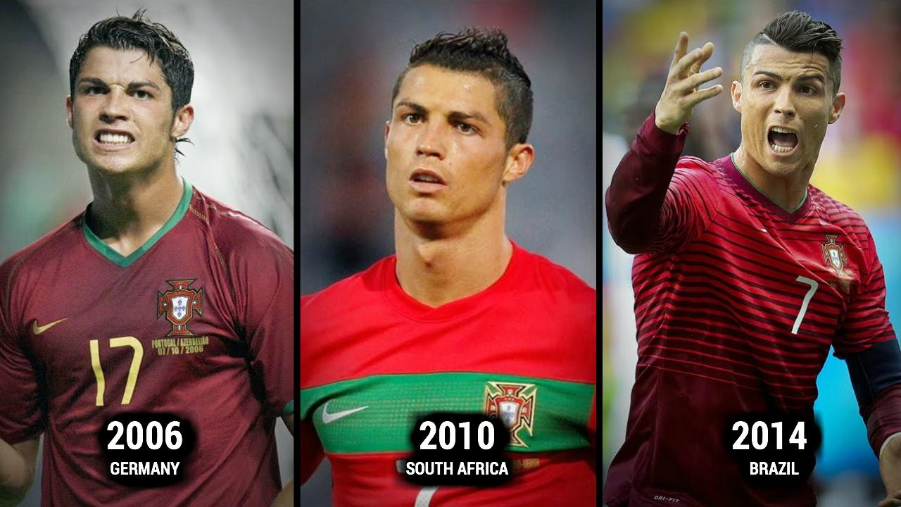 World Cup Players Through The Years