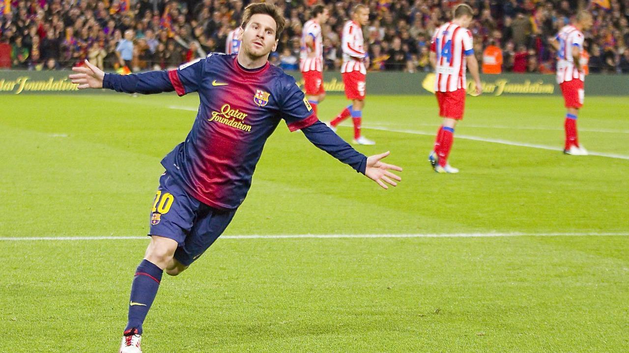 Lionel Messi Celebrates