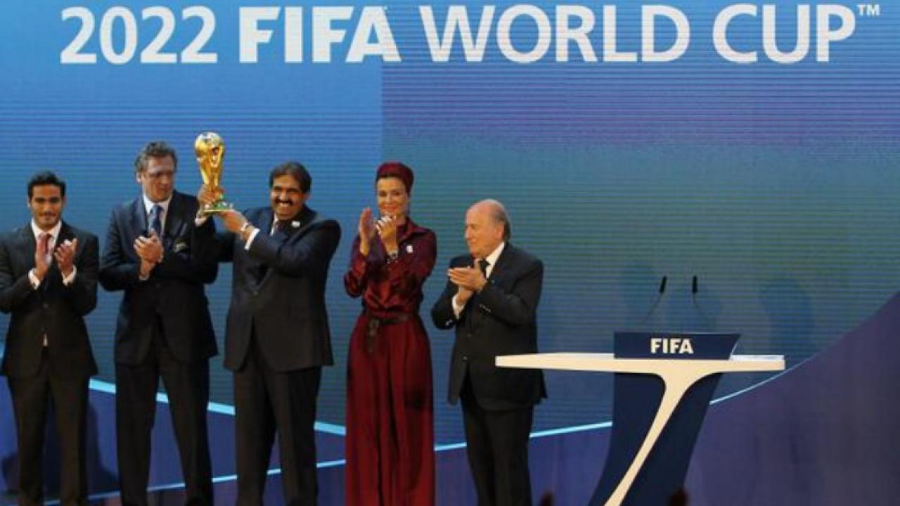 Qatar awarded the 2022 world cup