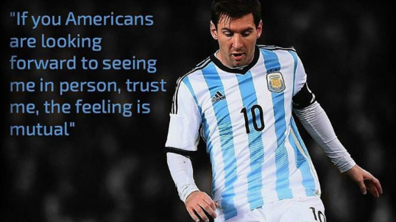 Lionel Messi Comes To America