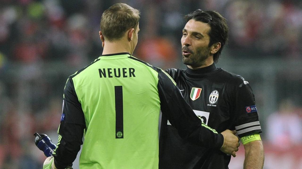 Gigi Buffon on Manuel Neuer