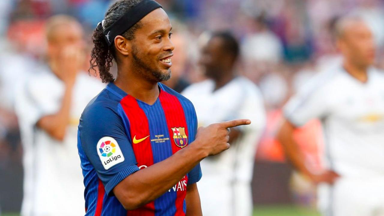 Ronaldinho On Whether or Not He's Retired