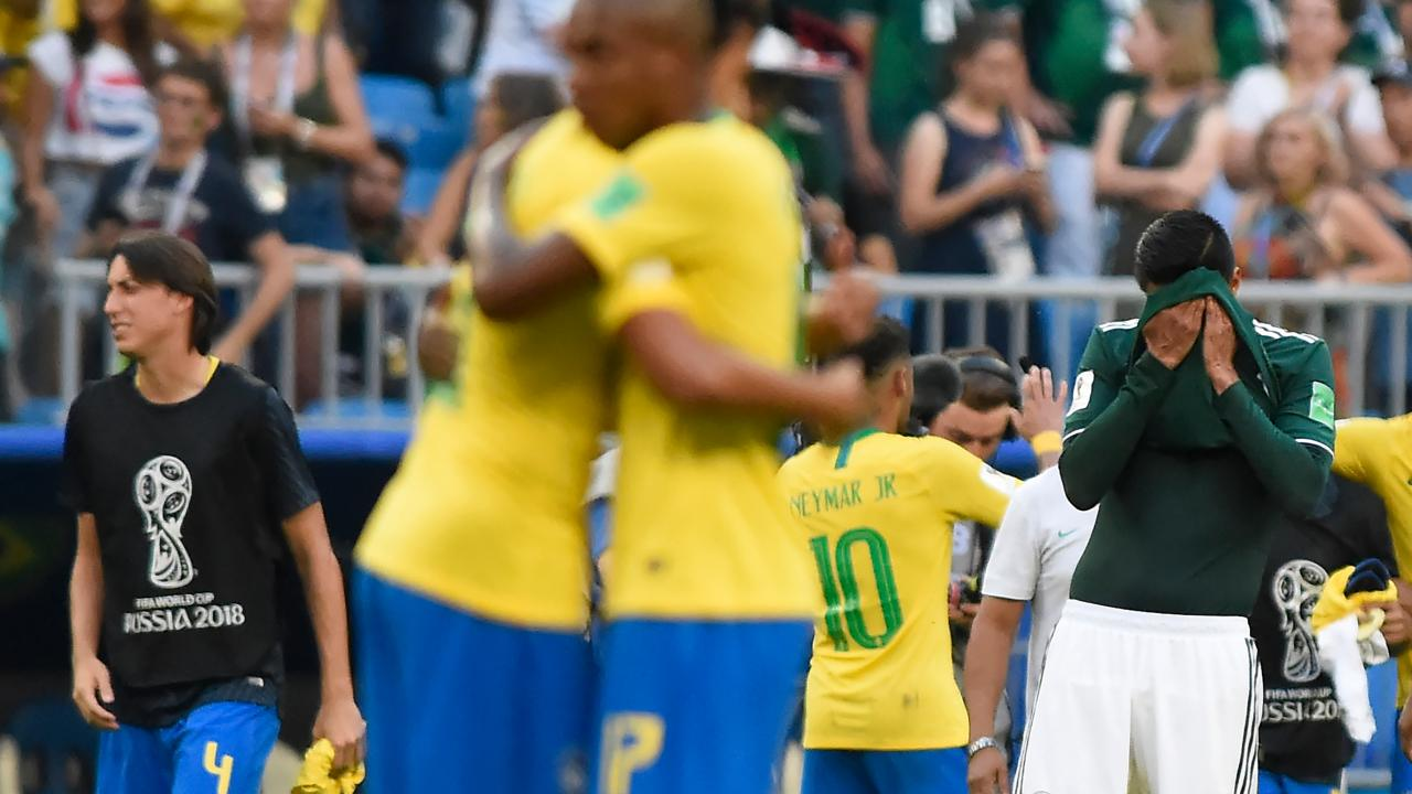 Brazil Defeats Mexico In The Round Of 16 At The World Cup