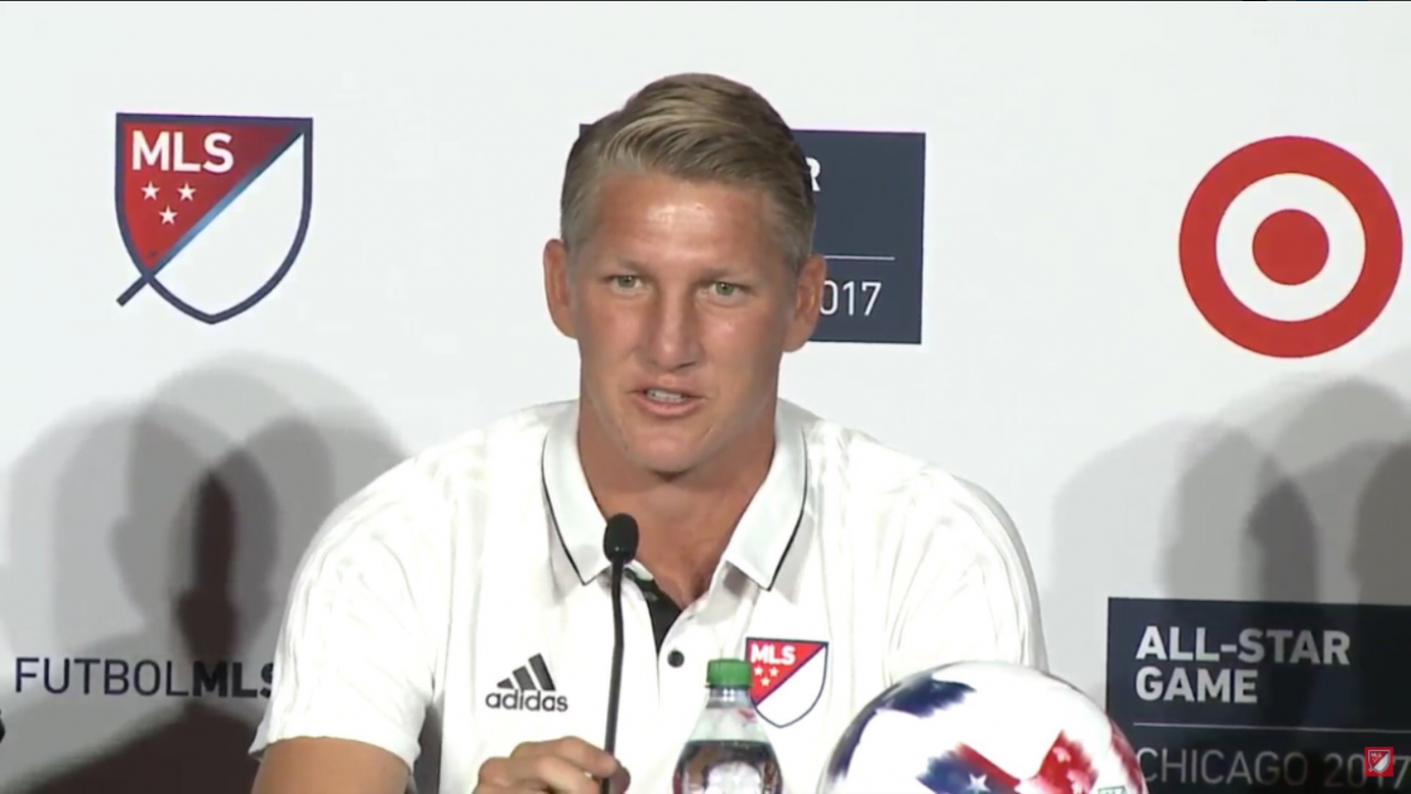 Bastian Schweinsteiger MLS All-Stars