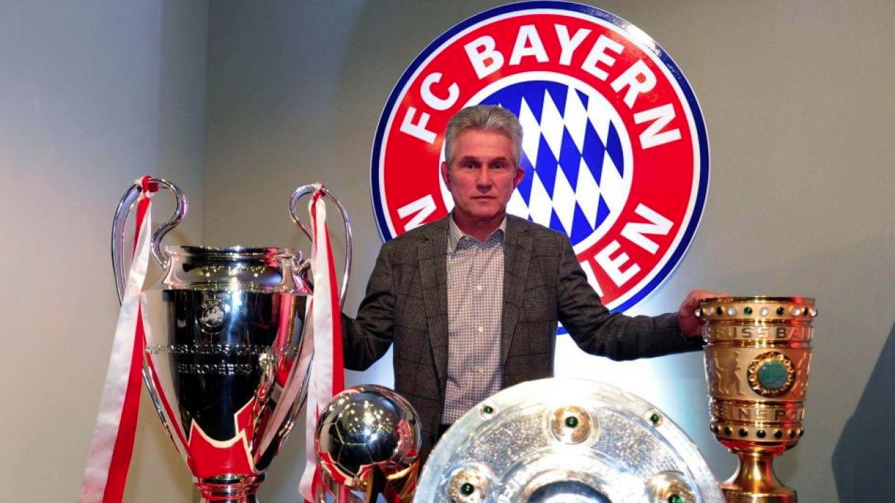 Jupp Heynckes Bayern Munich tactics