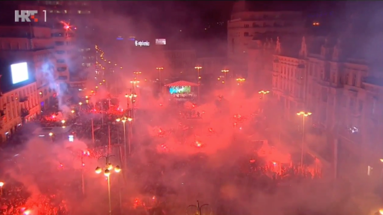 Croatia Welcome Home From World Cup