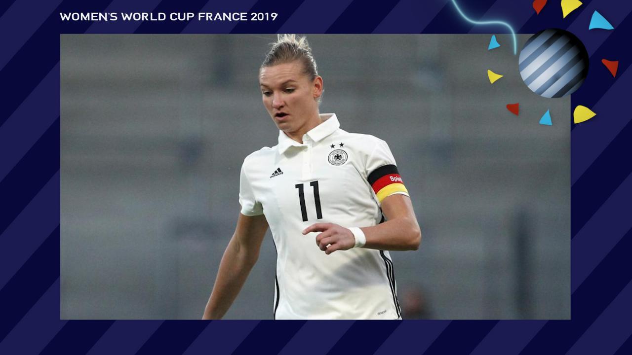 Alexandra Popp Germany Women's World Cup
