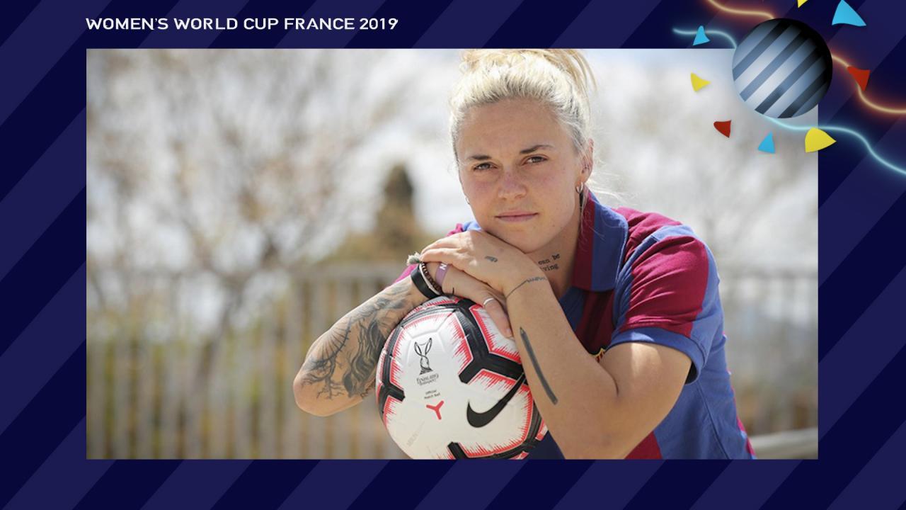 Mapi Leon Spain Women's World Cup