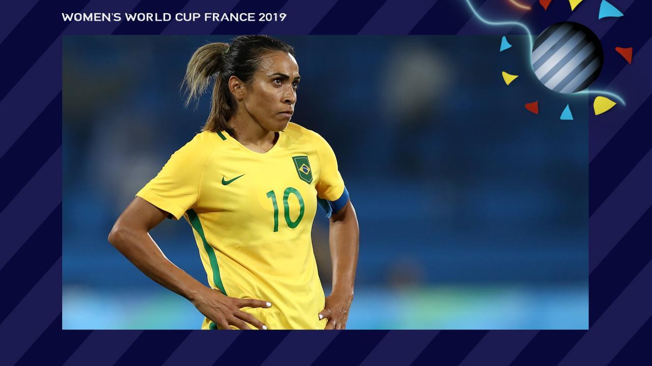 Marta Brazil Women's World Cup