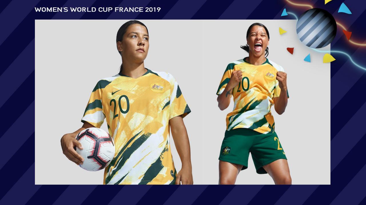 Sam Kerr Australia Women's World Cup