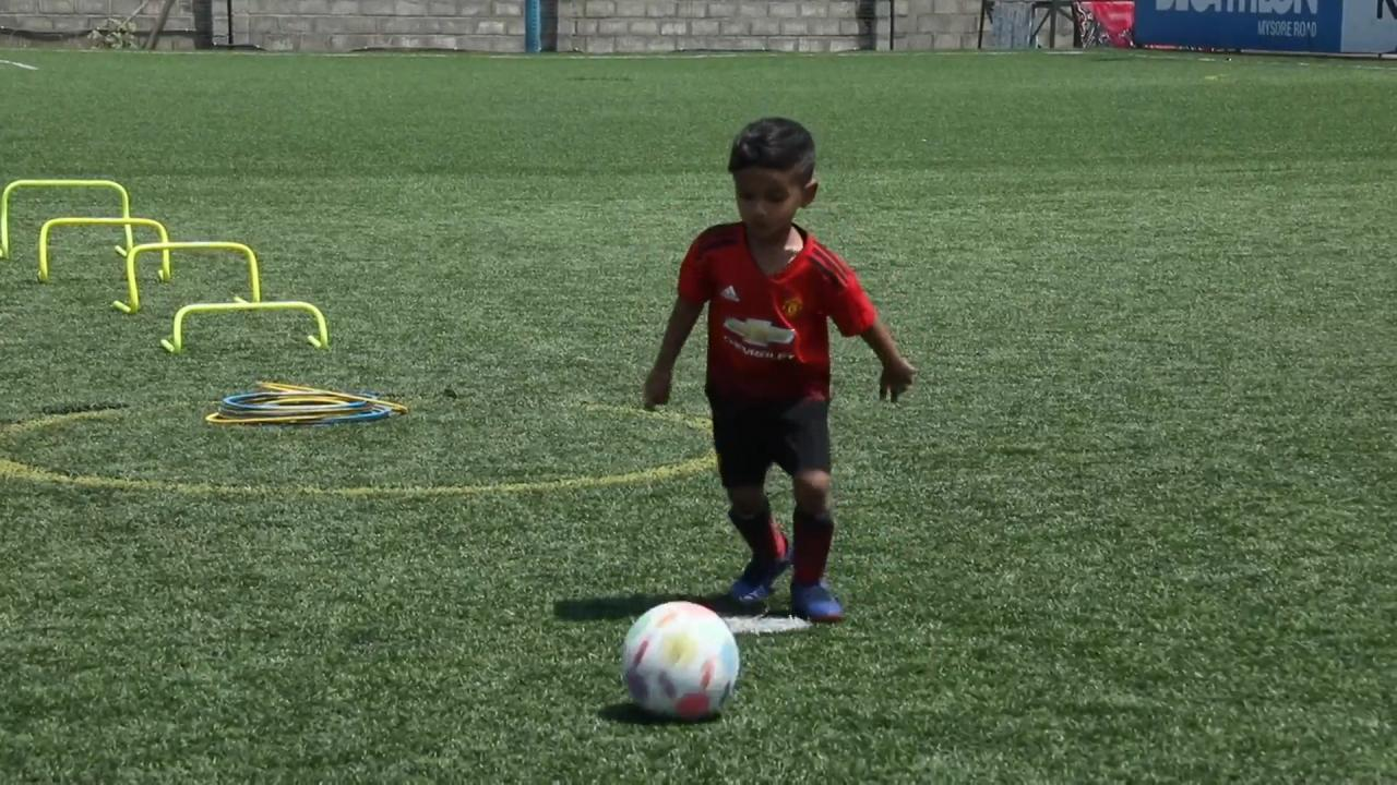 Three-year-old football prodigy