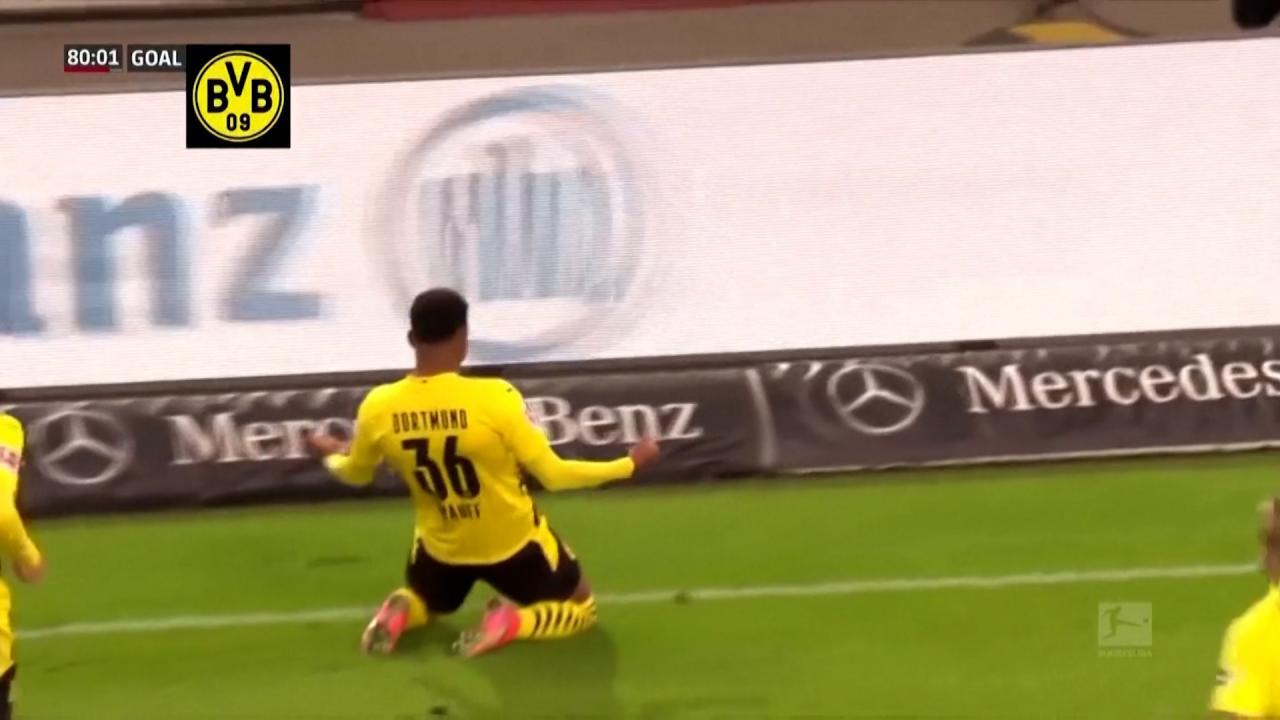 Knauff Scores First Goal