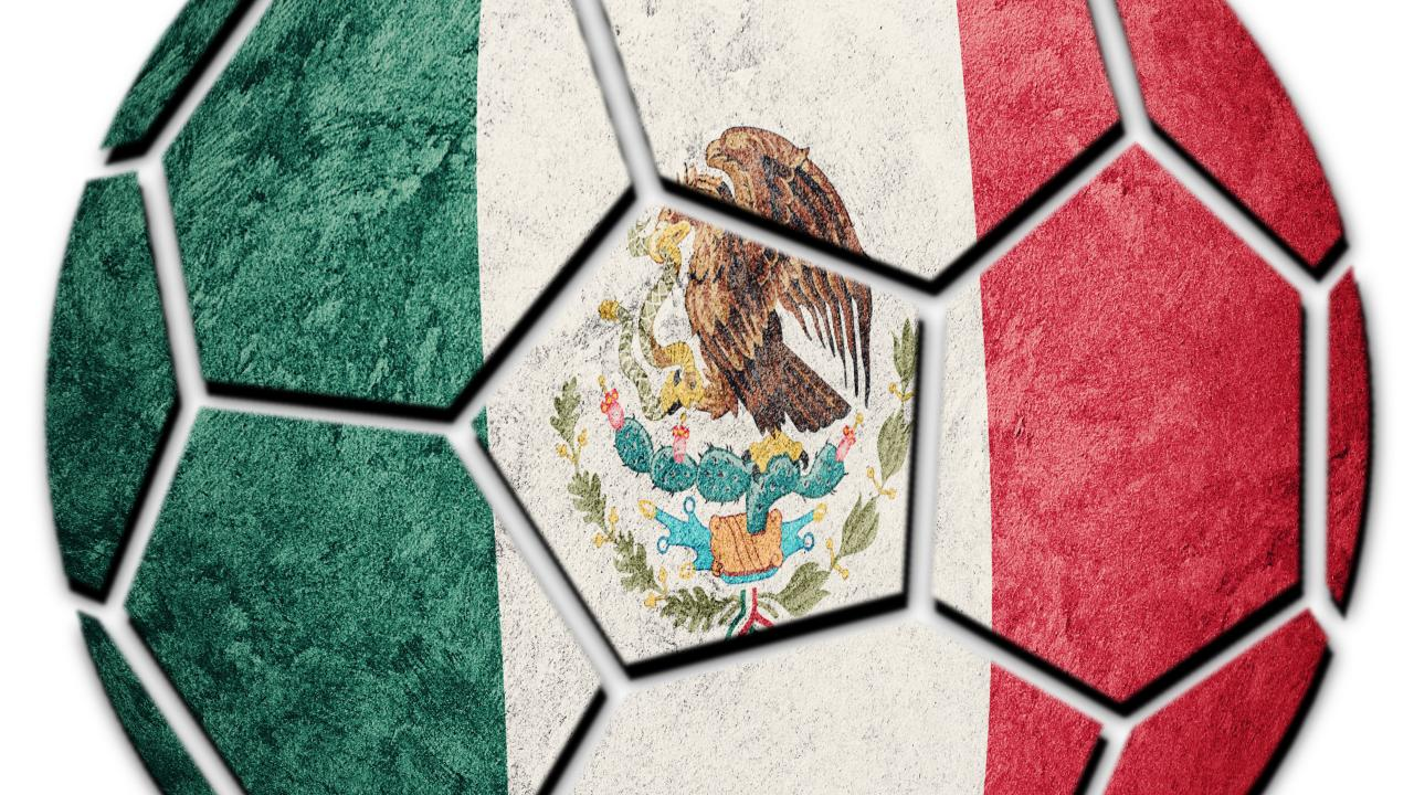 Team Mexico is about to play in the World Cup