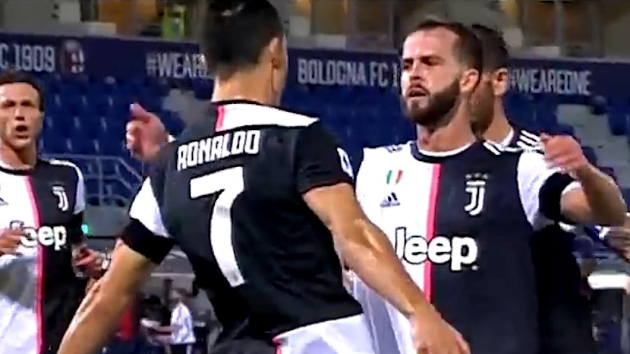 Ronaldo 76th Serie A Goal