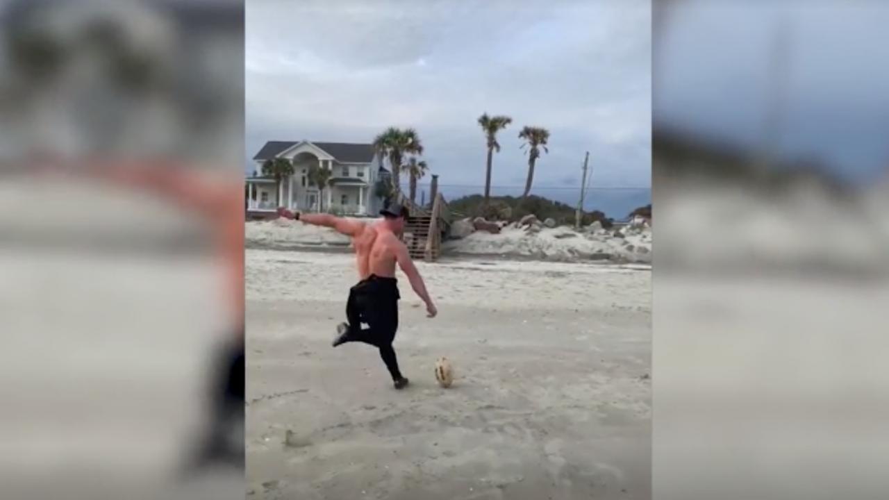 Football Kicker Trick Shots