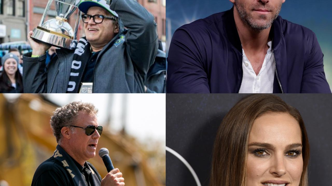Celebrity Soccer Club Owners