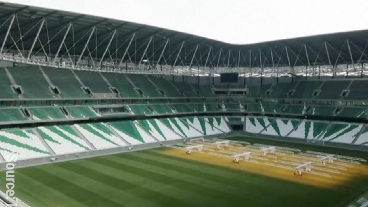 Third Qatar Stadium Finished