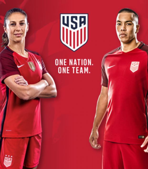 US Soccer New Kits