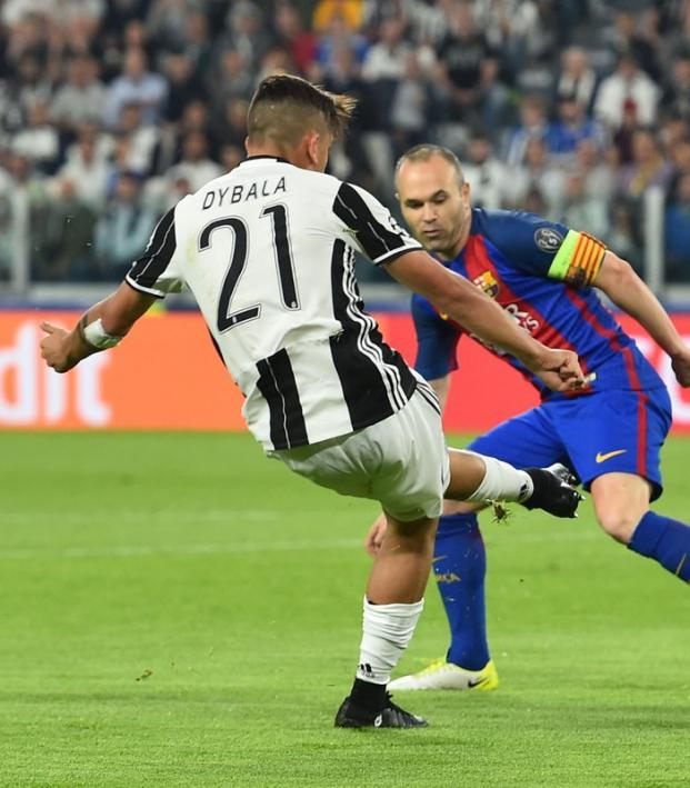 Paulo Dybala Scores Twice Against Barcelona