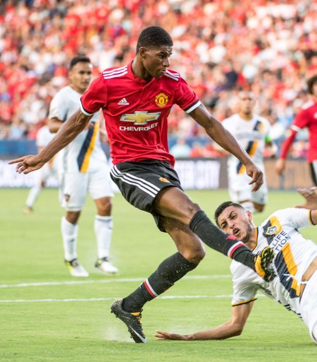 Manchester United Striker Marcus Rashford Goal Against LA Galaxy