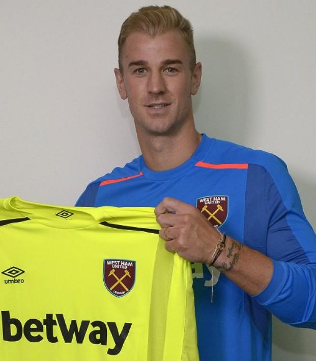 Joe Hart Signs For West Ham