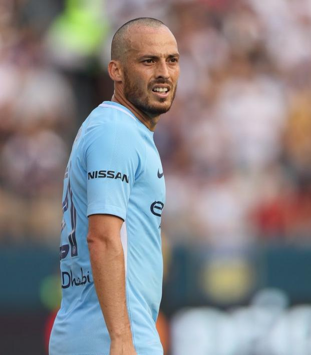 David Silva Manchester City Haircut