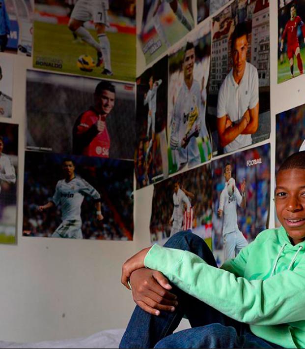 Mbappe Idolized Ronaldo At Age 14
