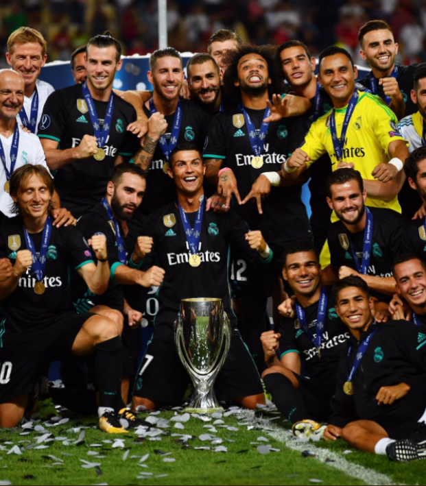 Real Madrid Super Cup Victory