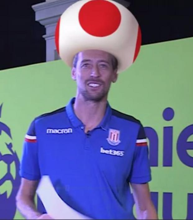 Peter Crouch Toad Mario Kart