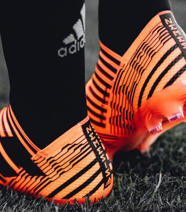 Lionel Messi New Adidas Pyro Storm Boots