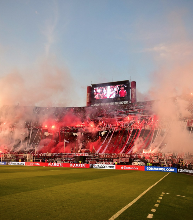 Atmosphere at River Plate