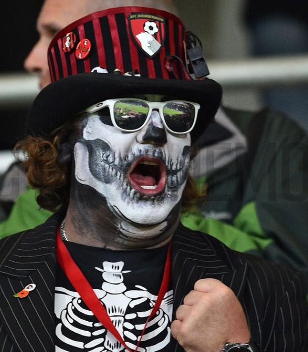 Bournemouth Fans Halloween Spirit