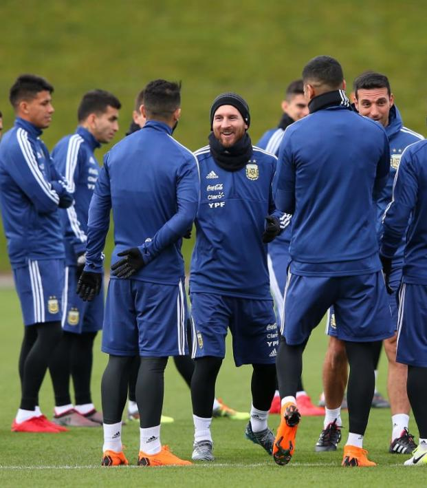 Argentina National Team Training