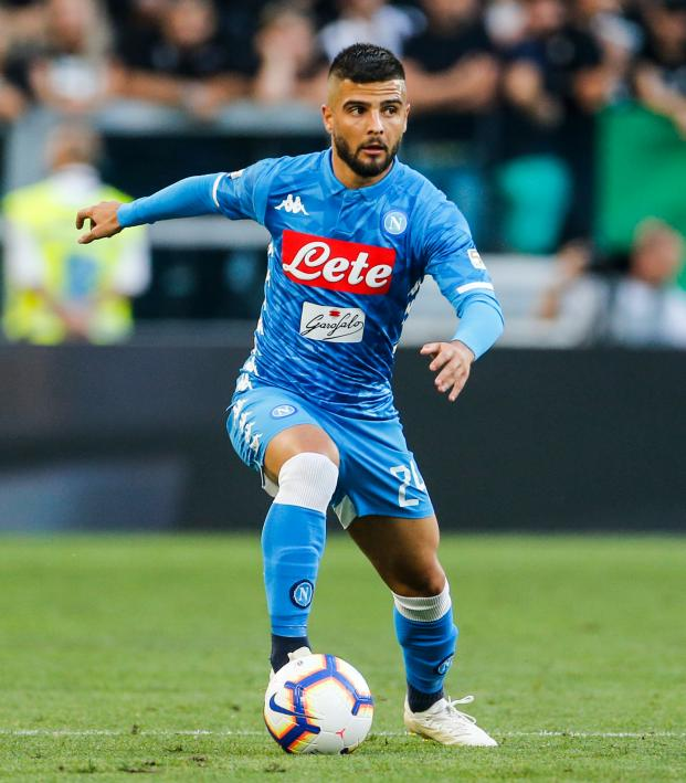 Lorenzo Insigne Takes A Touch