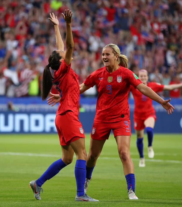 Christen Press Scores Opening Goal Of World Cup Semifinal