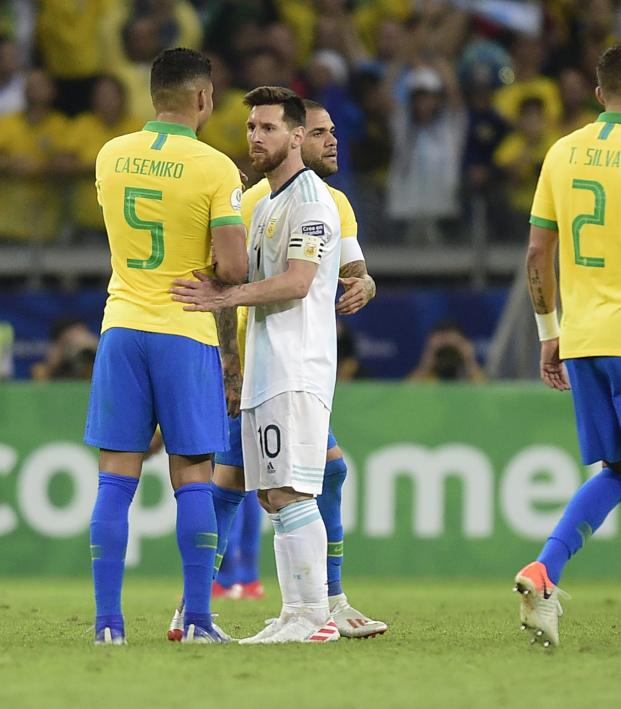 Messi's International Woes Continue After Loss To Brazil