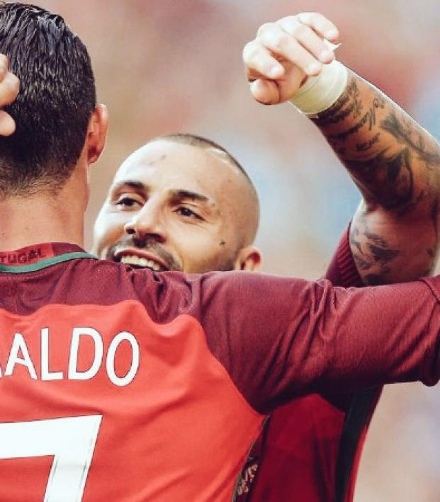 Cristiano Ronaldo And Ricardo Quaresma Light Up Portugal vs. Estonia ... 5f44bec103d31