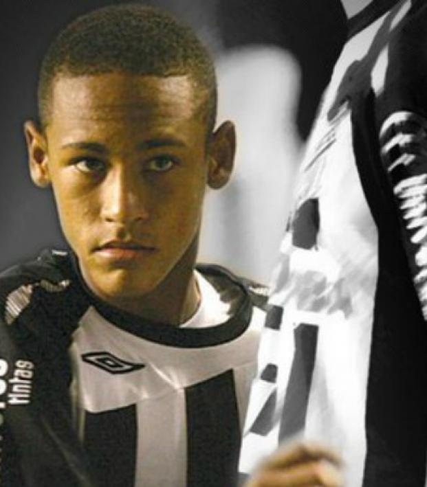 Neymar debut in professional soccer