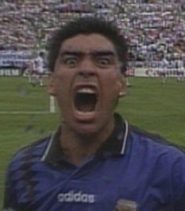 Maradona gor comeback 2