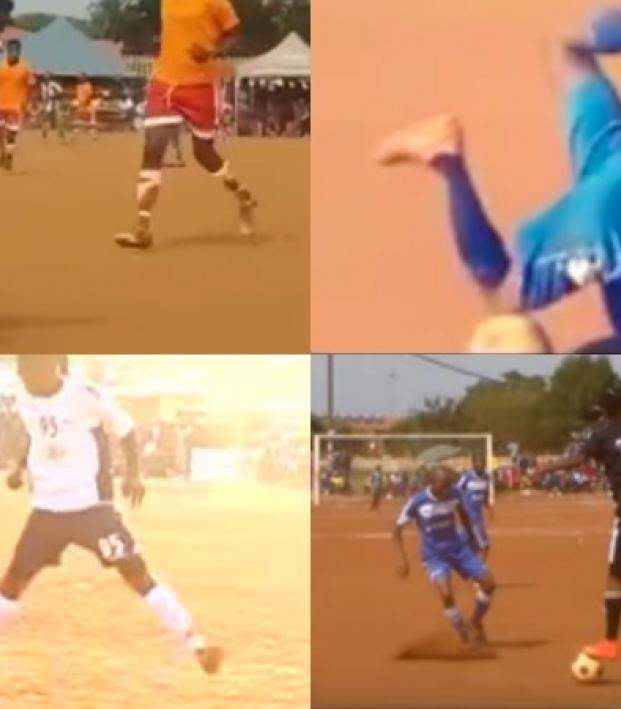 South Africa Kasi Football Skills And Dribbling b975610c8