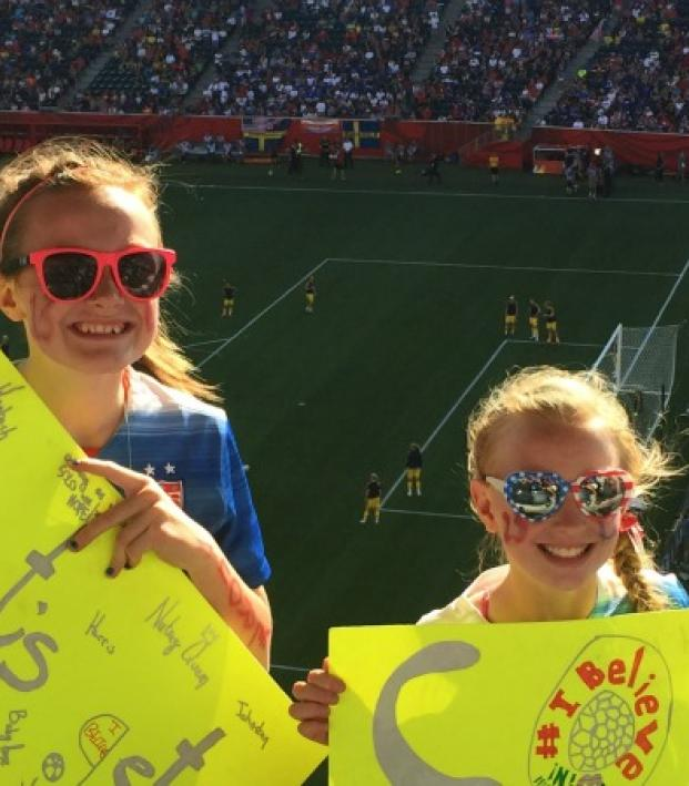 Letter To FIFA: 13-Year-Old Mic Beedy At A USWNT Match