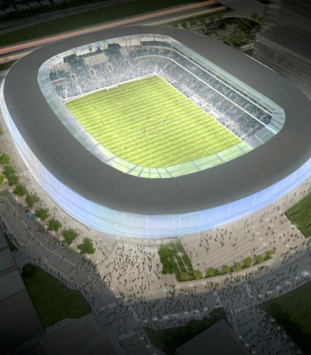 Minnesota United FC new stadium designs.