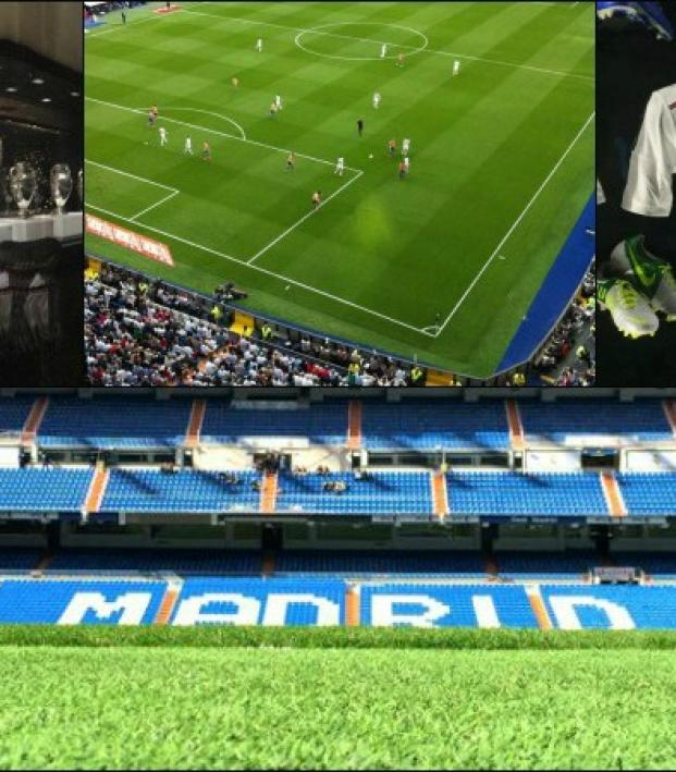 Real Madrid Stadium, Trophies and Kits